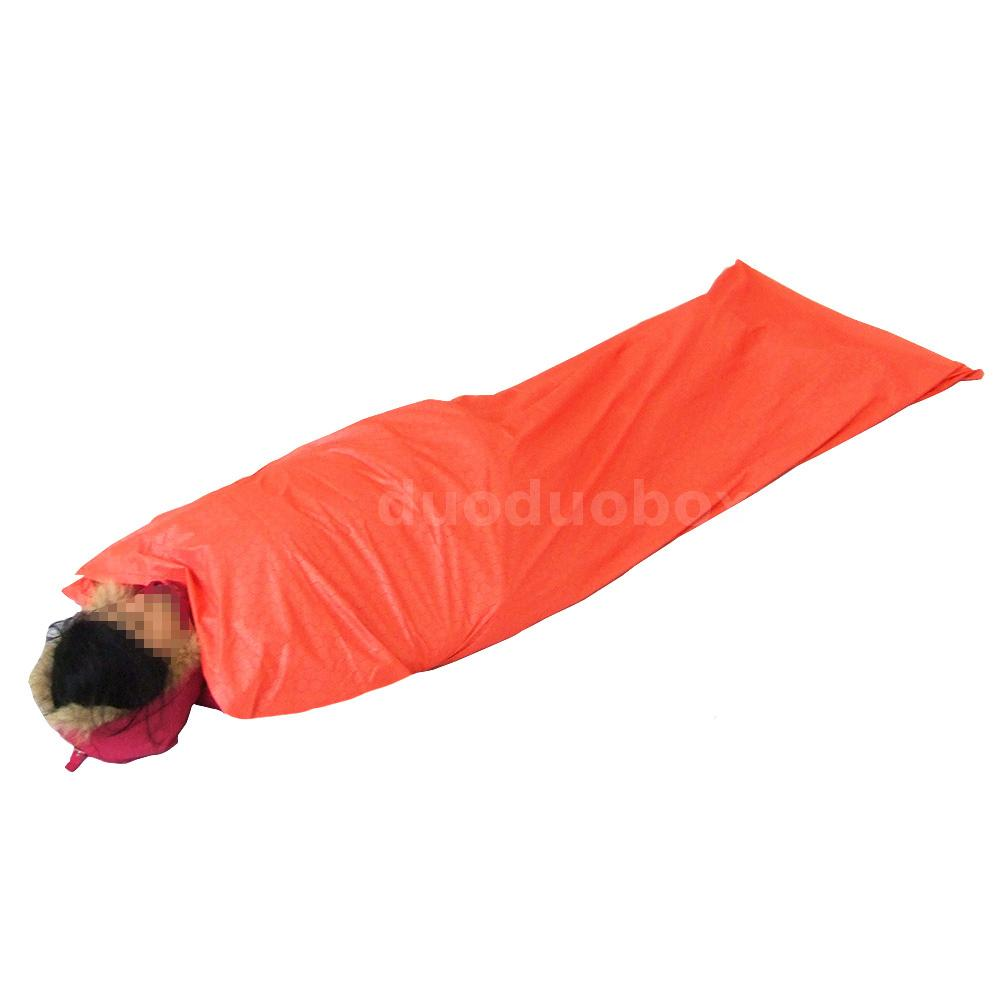 LIXADA Single Sleeping Bag Outdoor Camping Travel Hiking ...